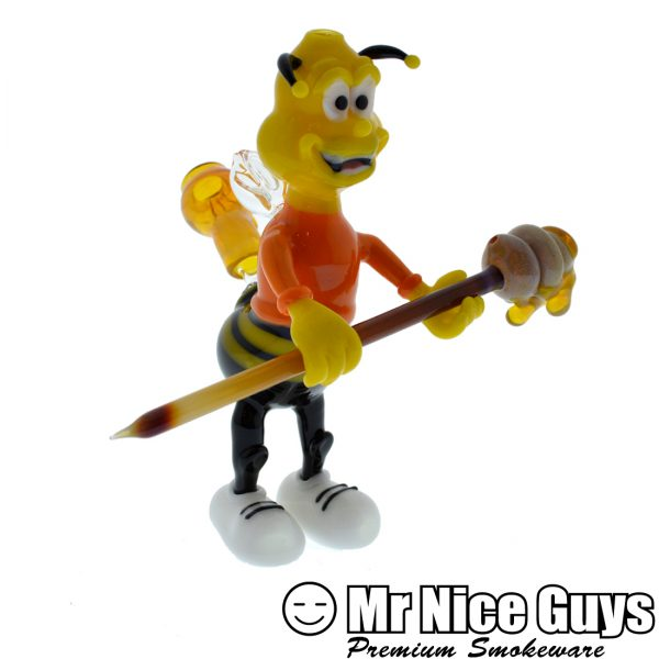 10MM NSG HONEY BUZZ OIL RIG WITH HONEYCOMB DABBER BY HENDY -0
