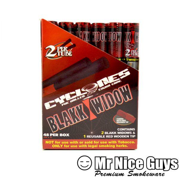BLAKK WIDOW CYCLONES PRE ROLLED CIGAR CONES 2PK-0