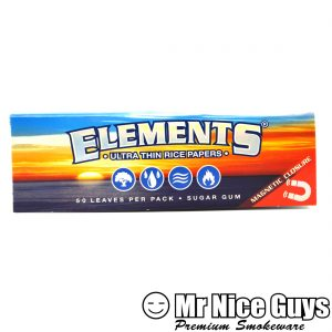ELEMENT 1-1/4 PURE RICE NO ASH ROLLING PAPERS-0