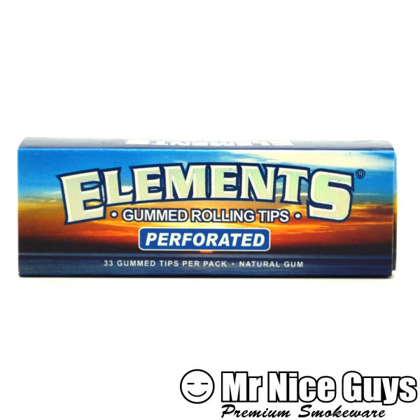 ELEMENTS NATURAL PREFORATED GUMMED ROLLING TIPS-0