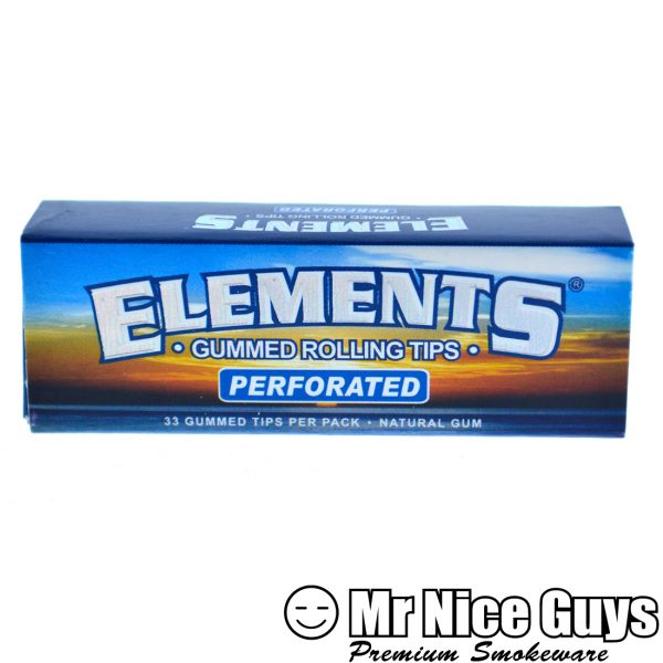 ELEMENTS NATURAL PREFORATED GUMMED ROLLING TIPS-17053