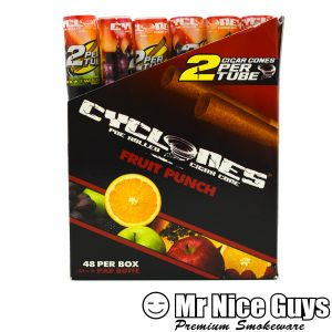 FRUIT PUNCH CYCLONES PRE ROLLED CIGAR CONES 2PK-0