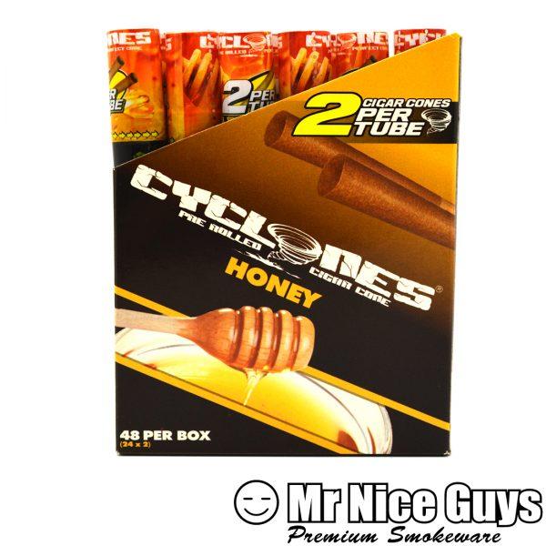 HONEY CYCLONES PRE ROLLED CIGAR CONES 2PK-0
