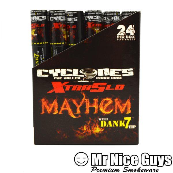 MAYHEM XTRA SLO CYCLONES PRE ROLLED CIGAR CONE-0