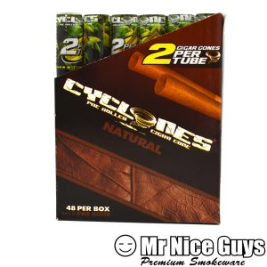 NATURAL CYCLONES PRE ROLLED CIGAR CONES 2PK-0