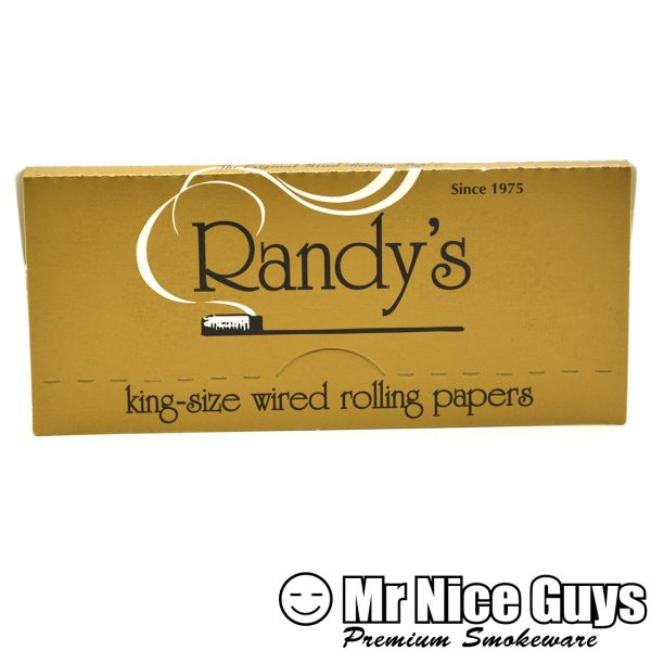 RANDYS KING SIZE WIRED ROLLING PAPERS-0