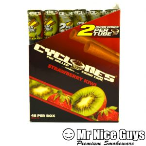 STRAWBERRY KIWI CYCLONES PRE ROLLED CIGAR CONES 2PK-0