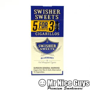 SWISHER SWEETS 5PK BLUEBERRY CIGARILLO-0