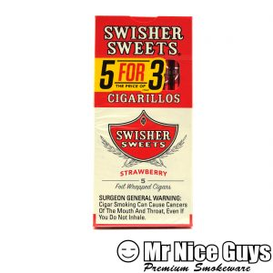 SWISHER SWEETS 5PK STRAWBERRY CIGARILLO-0