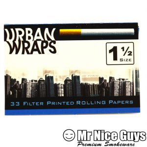 URBAN WRAPS 1-1/2 SIZE ROLLING PAPERS-0
