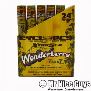 WONDERBERRY XTRA SLO CYCLONES PRE ROLLED CIGAR CONE-0