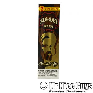 ZIG ZAG STRAIGHT UP CIGAR WRAPS 2PK-0