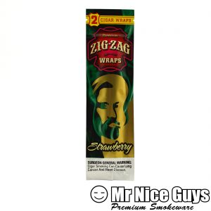 ZIG ZAG STRAWBERRY CIGAR WRAPS 2PK-0