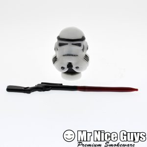 18MM STORM TROOPER DOME AND WEAPON DABBER SET BY FISH-0