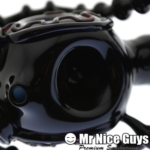 BLACK BIO SKULL AND SPINE SHERLOCK BY SNOOP -15250
