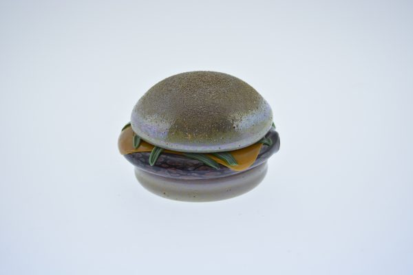 CHEESEBURGER PIPE BY PLUMP GLASS-0