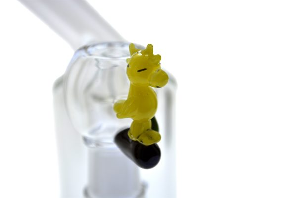EMPIRE GLASS 14MM SNOOPY OIL RIG WITH FEMALE FLOWER SLIDE -14279