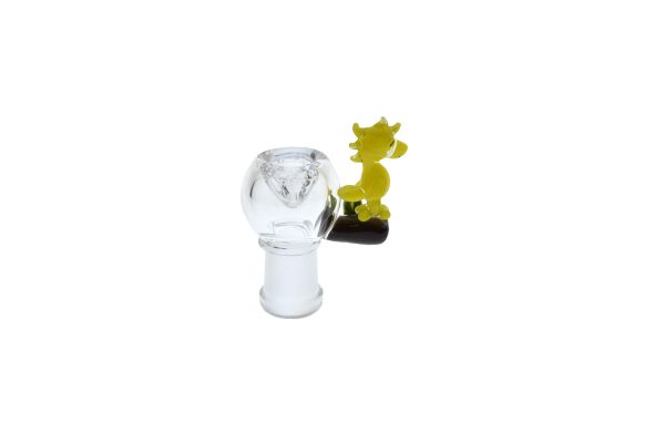 EMPIRE GLASS 14MM SNOOPY OIL RIG WITH FEMALE FLOWER SLIDE -14280