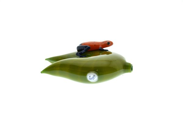 FROG ON A LILYPAD PIPE-13978