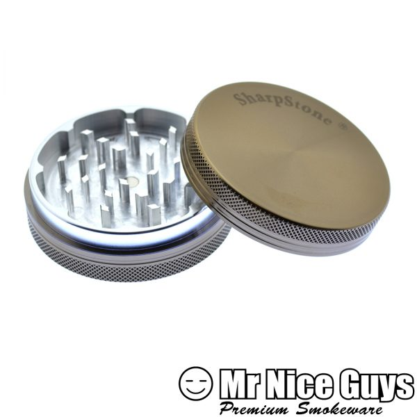 """SHARPSTONE 2.5"""" HERBAL GRINDER 2 PC AST COLORS AVAILABLE-14952"""