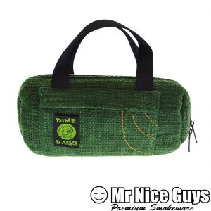 "SMALL 10"" GREEN DUFFLE BAG DIMEBAG -0"