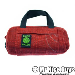 "SMALL 10"" RED DUFFLEBAG DIMEBAG -0"