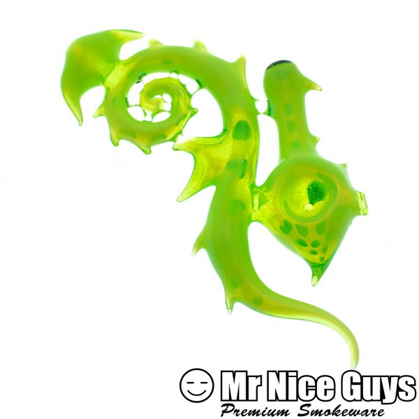 STROKER GLASS WORKS SLYME SEAHORSE DRY PIPE-0