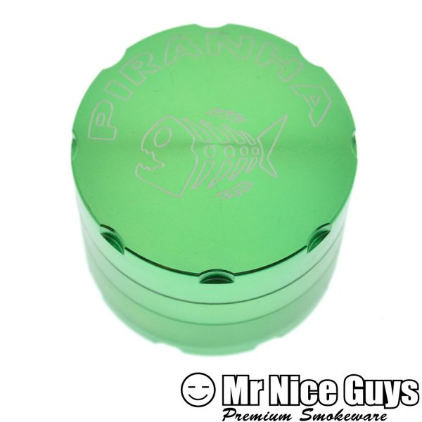 PIRANHA 2.0 INCH 4PC GRINDER ASSORTED COLORS AVAILABLE -14266