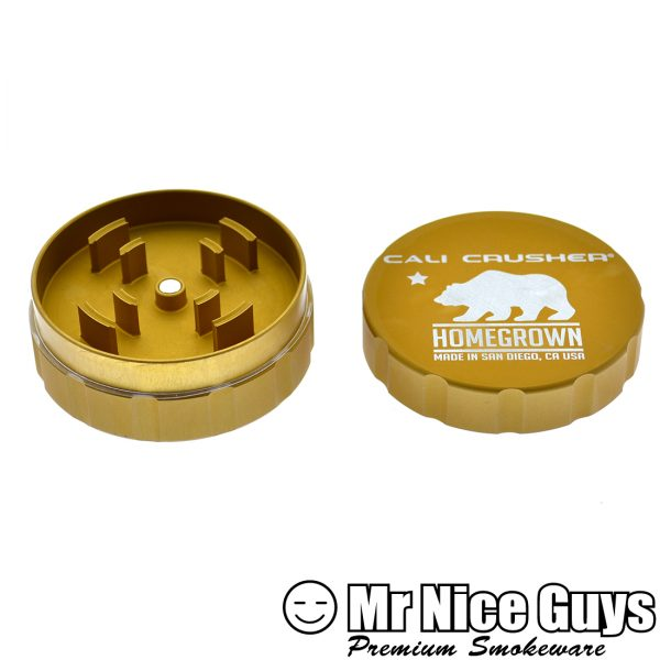 """CALI CRUSHER 3"""" HERBAL GRINDER 2 PC AST COLORS AVAILABLE-15905"""