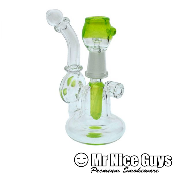 GREEN SLYME ACCENTED PENDANT OIL RIG -0