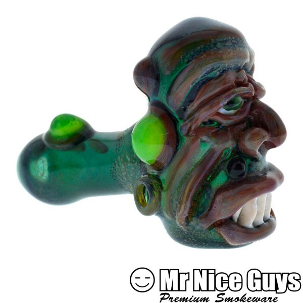 GREEN TROLL HEAD SPOON -0
