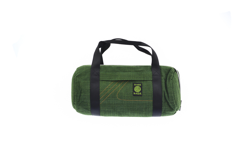 Large 18 Green Duffle Bag Dimebag