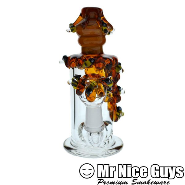 MINI INLINE DRIPPING HONEY BEEHIVE OIL RIG BY EMPIRE -14476