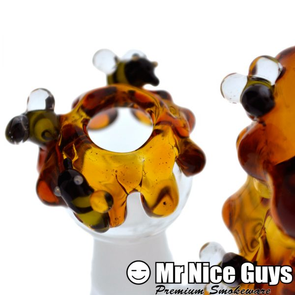 MINI INLINE DRIPPING HONEY BEEHIVE OIL RIG BY EMPIRE -14479