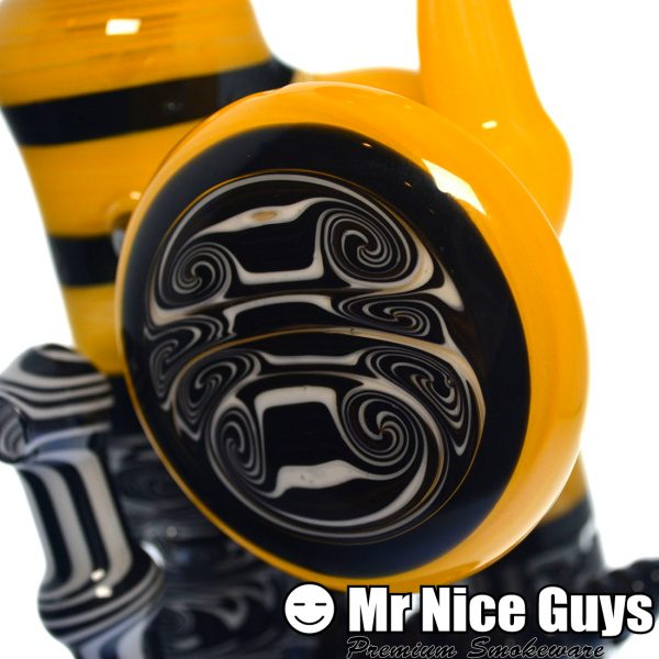 BLACK 'N YELLOW REVERSAL DUB BUBBLER-13310