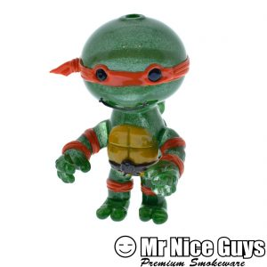 MICHELANGELO TMNT OIL RIG BY SWANNY SWANSWAN-0