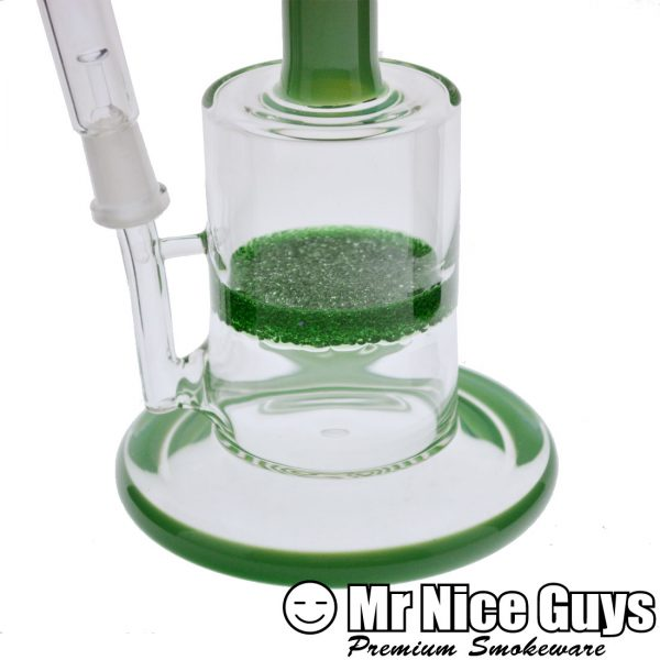GREEN BENT NECK GREEN FRIT OIL RIG-16469