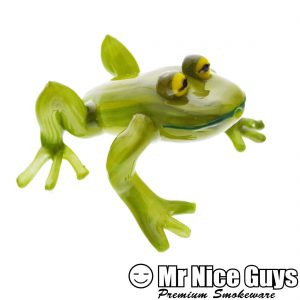 HEADY GREEN FROG HANDPIPE-0