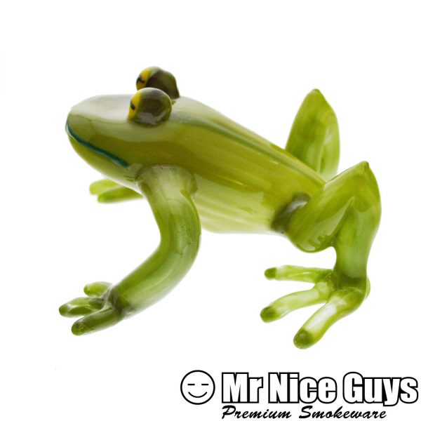 HEADY GREEN FROG HANDPIPE-13320