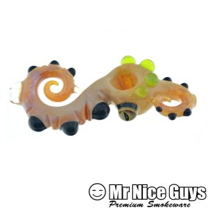 BROWN AND SLYME TENTACLE STEAMROLLER BY PYRO STYLES GLASS-0
