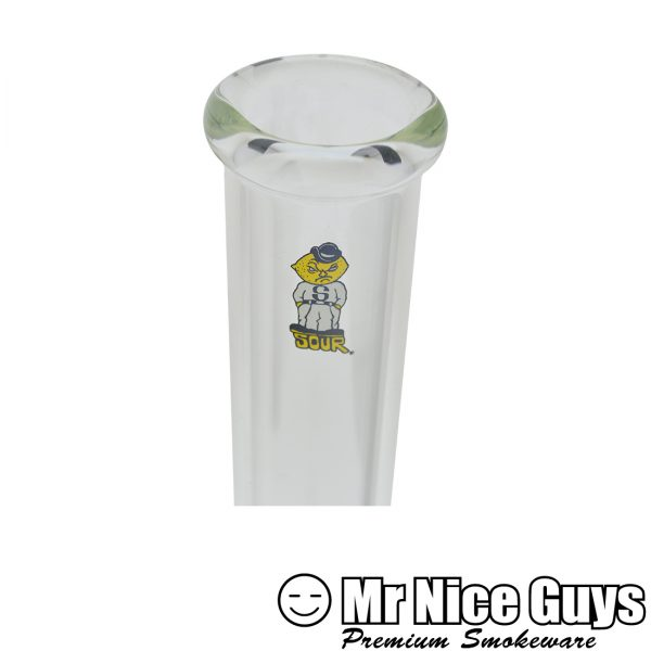 """SOUR 13"""" TRADITIONAL SLIDE BUBBLE WATERPIPE-15503"""