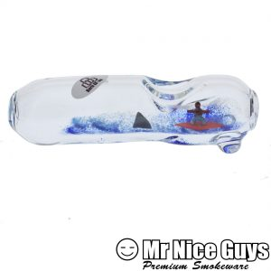 SMOKE N SURF STEAMROLLER BY BERN GLASS-0