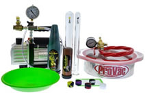 Extractor and vacuum pump assortment
