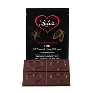 CBD chocolate in Minnesota local head shop.