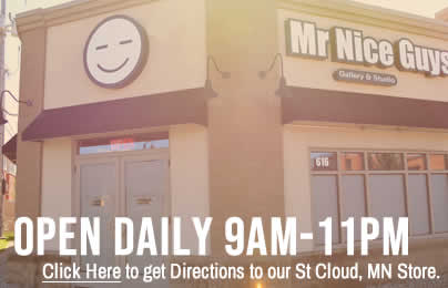 Mister Nice Guys is open from 9am to 11pm daily. Also known as Mr Good Guys and Saint Cloud dispensary.